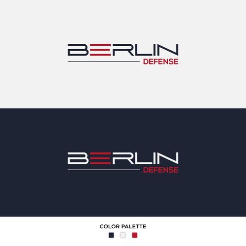 Berlin Defense Logo Design