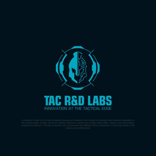 Build an awesome logo for a R&D company on the Tactical Edge
