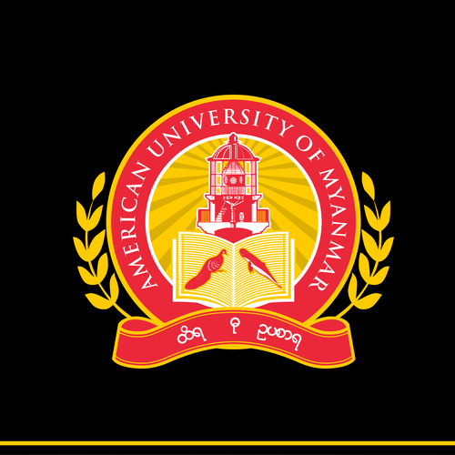 American University of Myanmar Crest