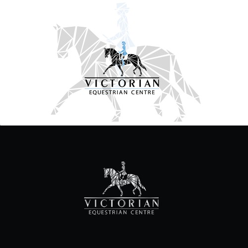 SOLD - Logo for equestrian centre in Australia