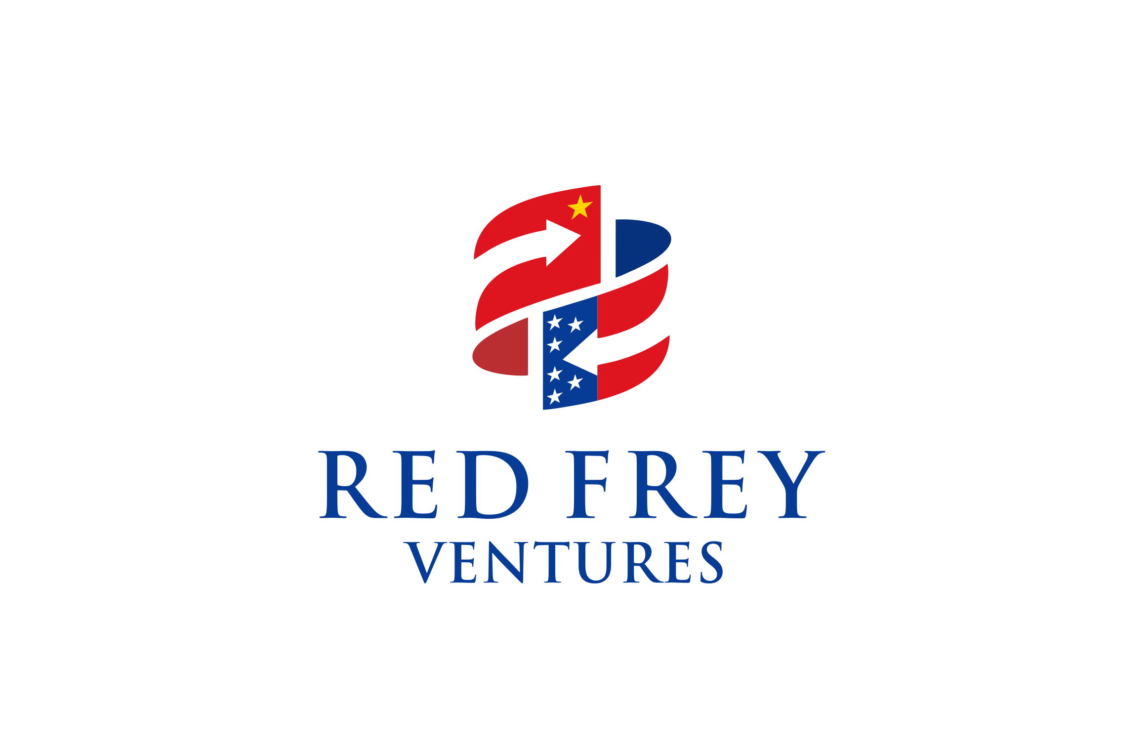 Design a new logo for a cross border venture capital firm between China and the US