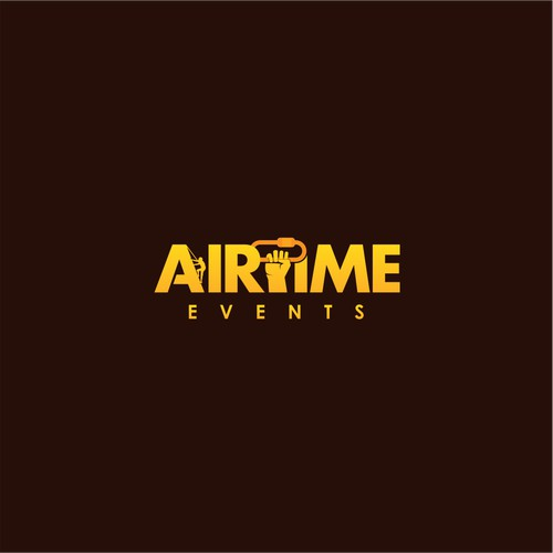 Bold Logo concept for Airtime Events