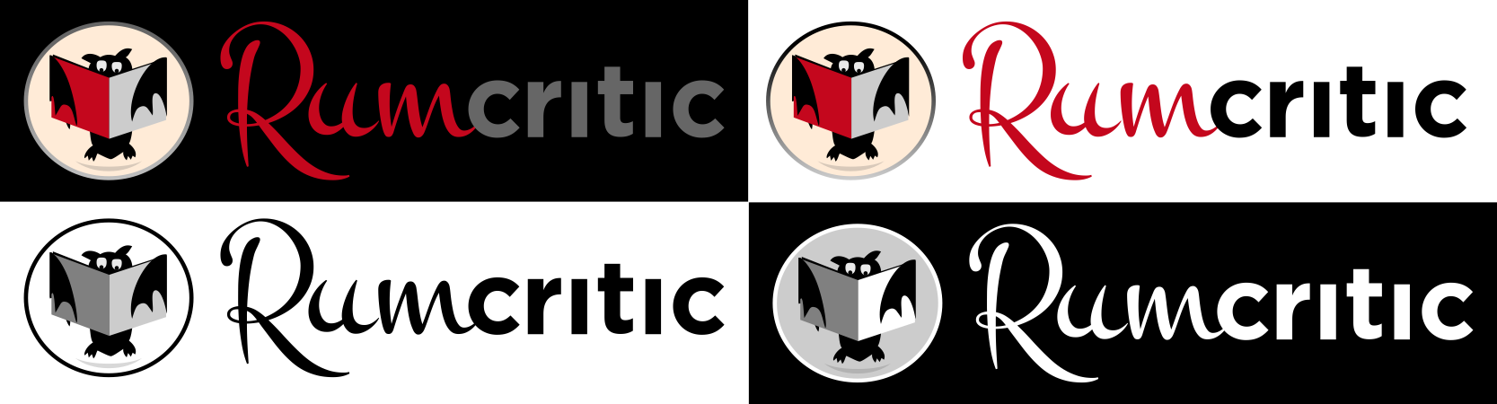 Create the next logo for Rum Critic