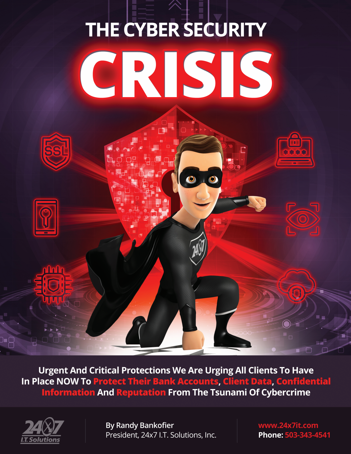 12-page Cyber Security Crisis Booklet