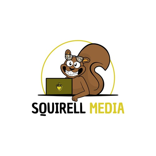 Cartoon Logo for media company