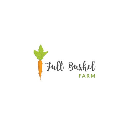 Logo concept for a Organic Vegetable Farm
