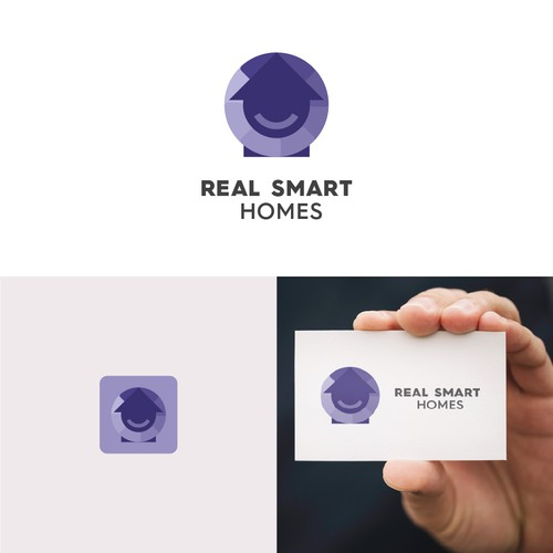 Logo concept for smart homes