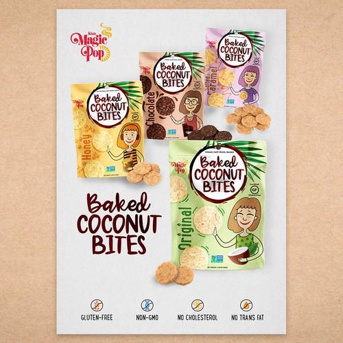 Baked Coconut Bites - Sell Sheet