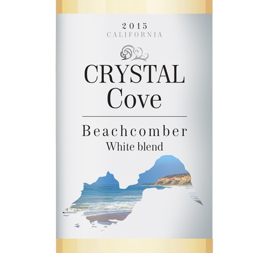 Wine label Crystal Cove