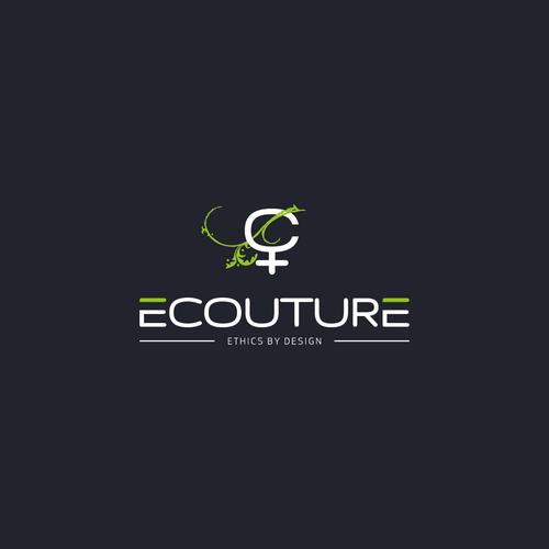 Bold Logo Concept for Ecouture