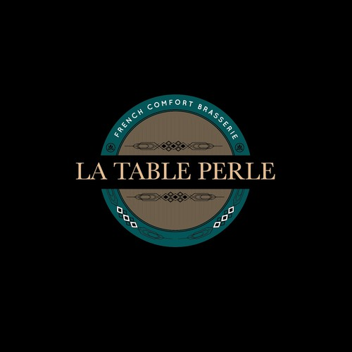 La Table Perle Logo design