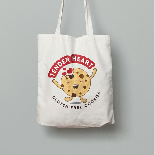 logo concept for gluten free cookie brand