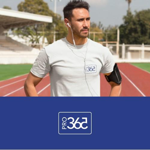 Logo for sport clothes brand