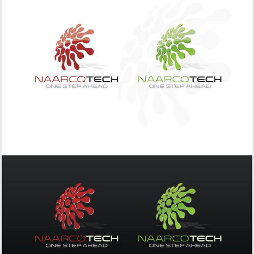 Create a logo for a potential huge technology company.