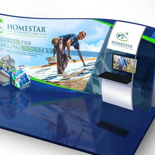 Homestar Remodeling Event Booth