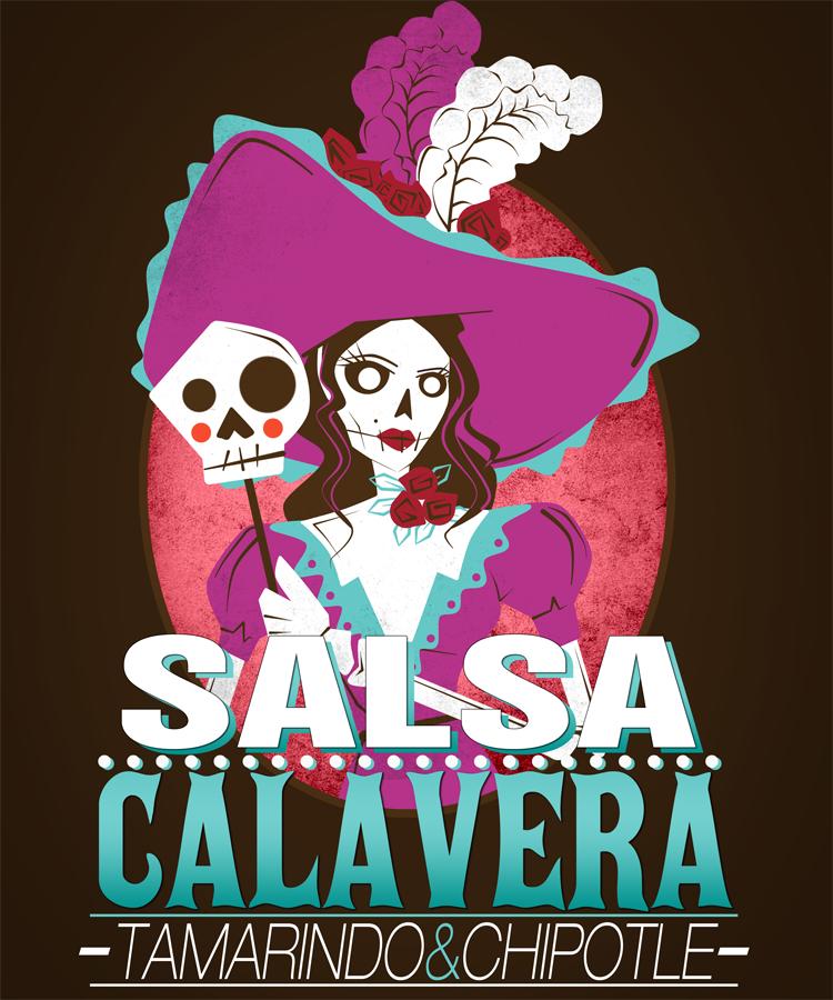 Help Calavera Sauce create an exciting label!