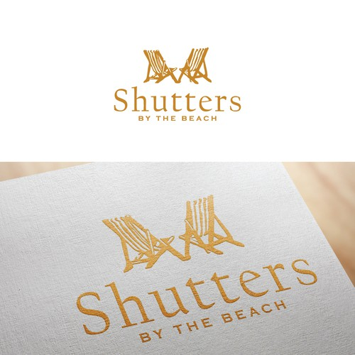 Logo for beach house rental for couples and groups