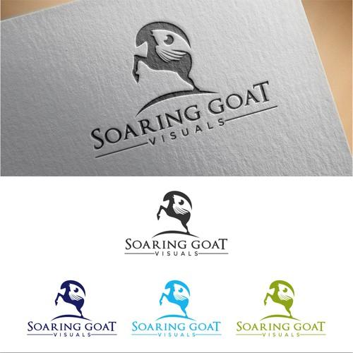 Logo design concept for Soaring Giat Visuals