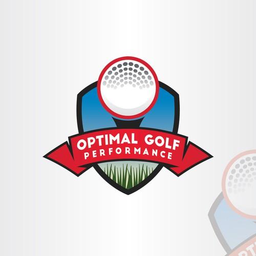 Logo Concept dor Optimal Golf Performance