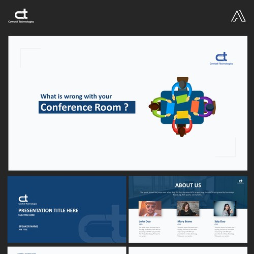PowerPoint Template for Cowbell