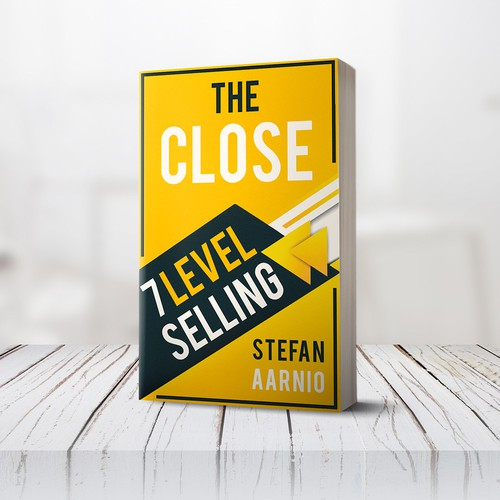 Book cover design - The Close - 7 level selling