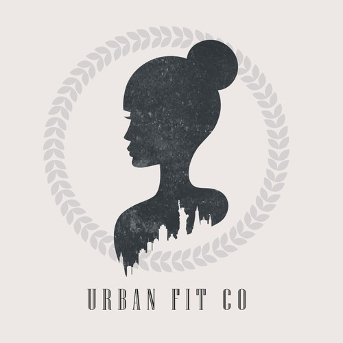 corporate logo for urban fit co
