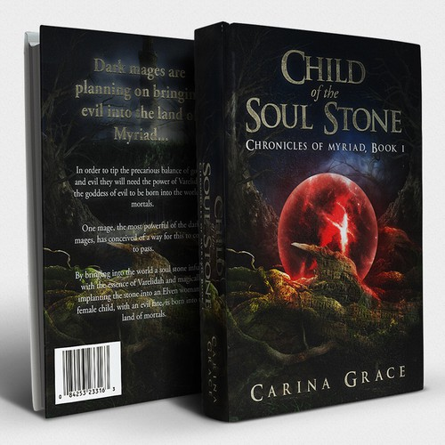 Child of the Soul Stone Book Cover