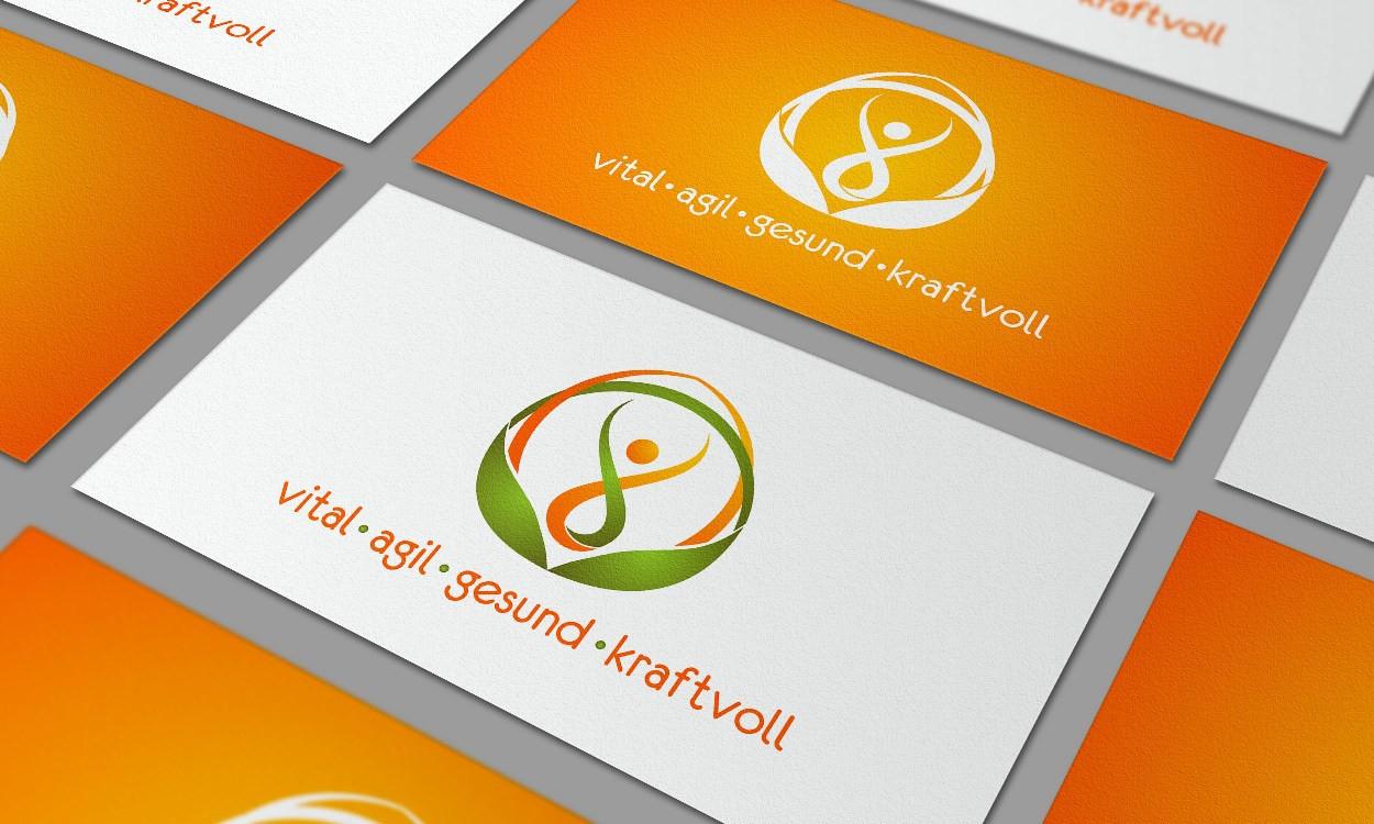 vital, agil, gesund, kraftvollbei neuem logo helfen