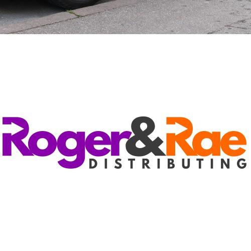 Bold wordmark logo for delivery business