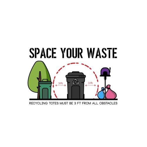 logo for recycling company