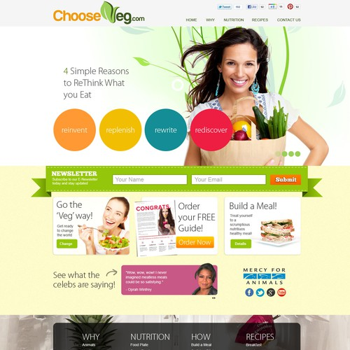 Web Design for a Health Website