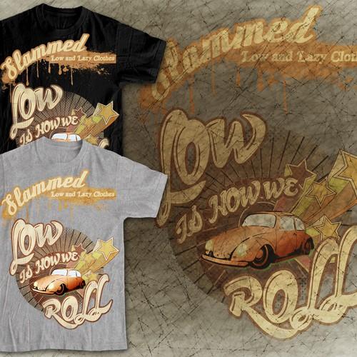 Slammed needs a new t-shirt design