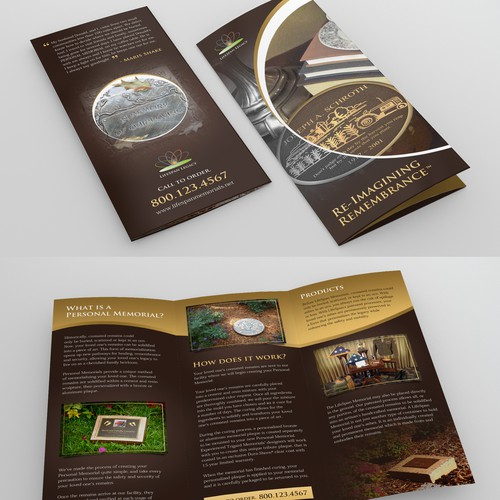 "Create a classy ""Wow"" brochure for LifeSpan Legacy"