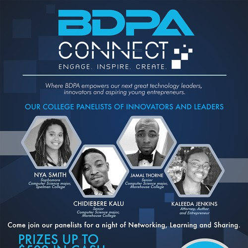 BDPA Connect College and High School Flyer