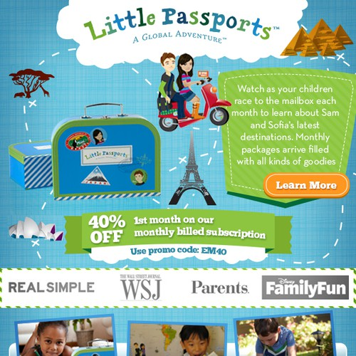 Banner for Little Passports