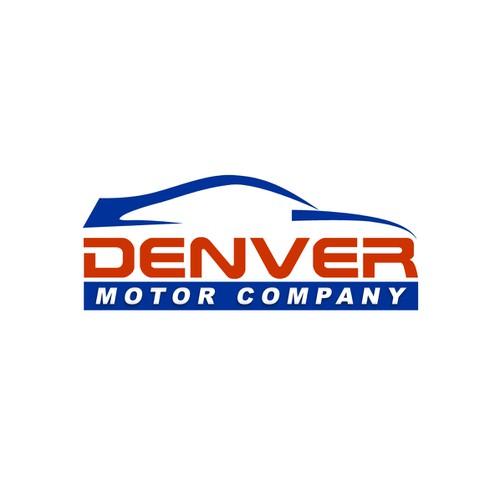 Denver motor company logo