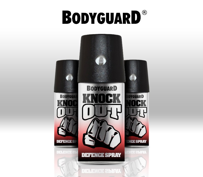 Bodyguard needs a label design for new self defence spray