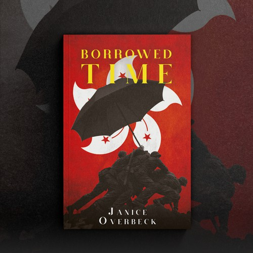 """Book cover """"Borrowed Time"""" - Janice Overbeck"""