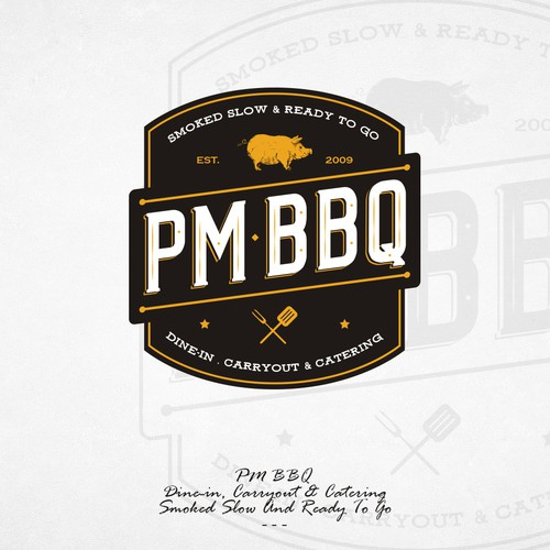PM BBQ Logo