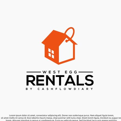 Logo concept for rentals
