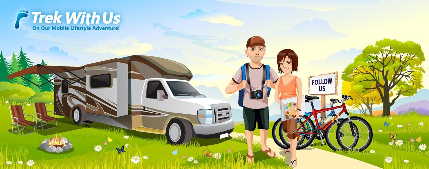illustration for TrekWithUs.com