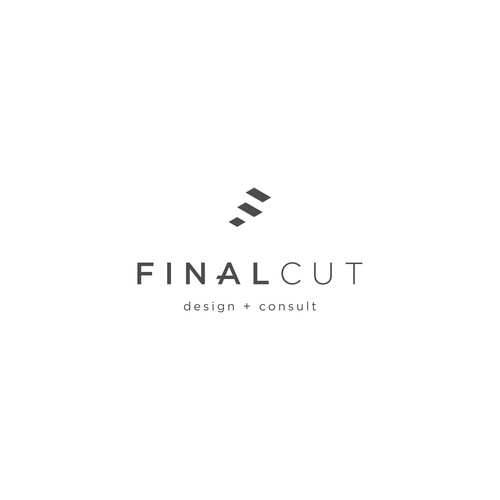 Geometric logo for a staircases company