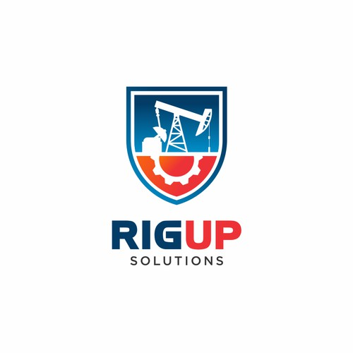 Logo concept for RigUp Solutions