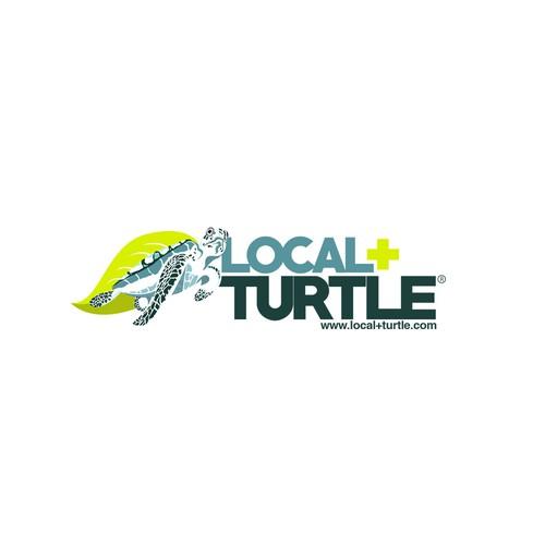 Logo Local + Turtle