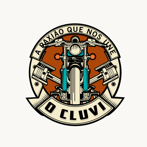 logo for organization is focused on a social loyalty club made for every motorcycle user.