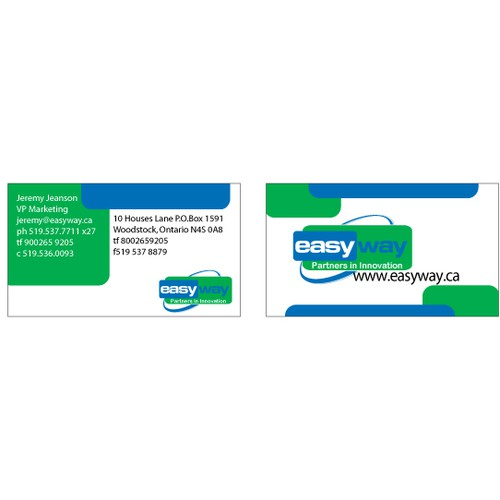Branding Overhaul - Innovative business cards needed!