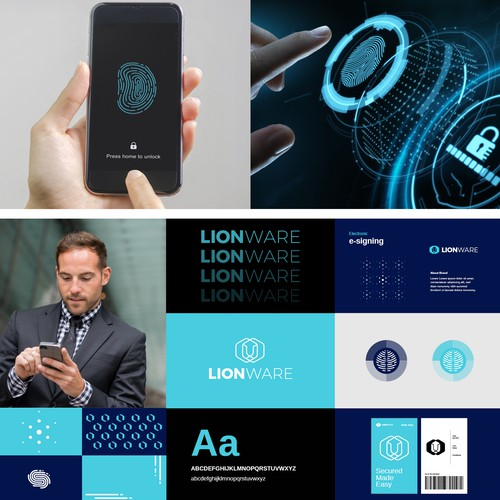 Brand guidelines for lion ware technology