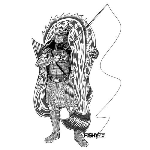 barbarian fisherman