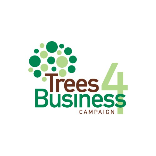 Logo for the Trees for Business Campaign