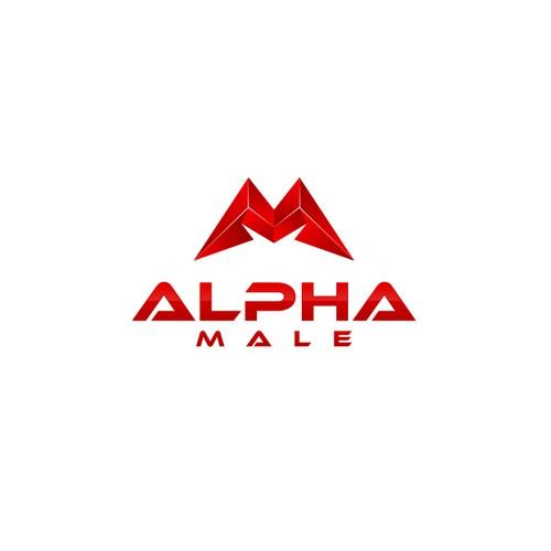 Alpha Male Logo